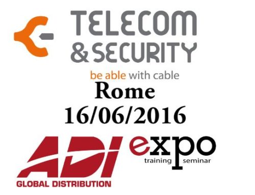 Telecom & Security @ Roma ADI (Timelapse)