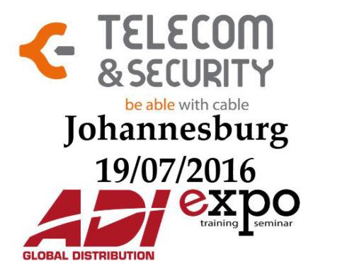 Telecom & Security @ Johannesburg ADI (Timelapse)